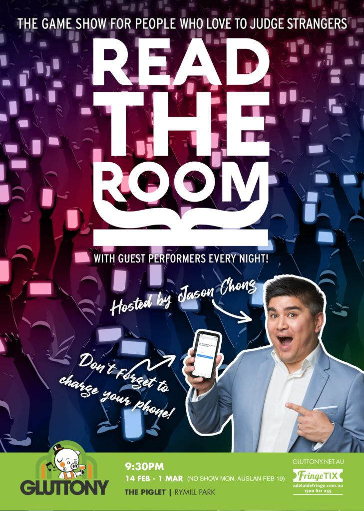 Read The Room Poster Adelaide Fringe