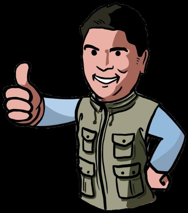 Cartoon picture of Jason Chong